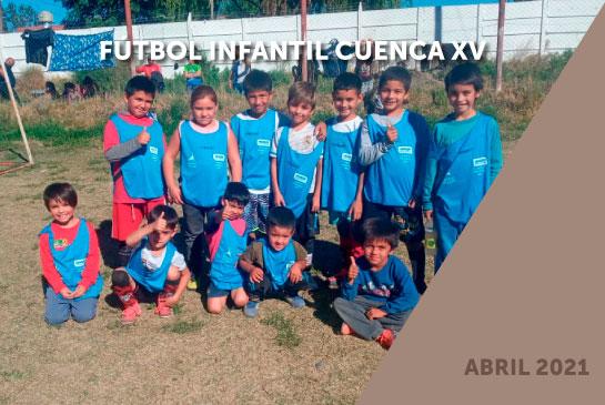 Cuenca XV - Transporte para fútbol infantil