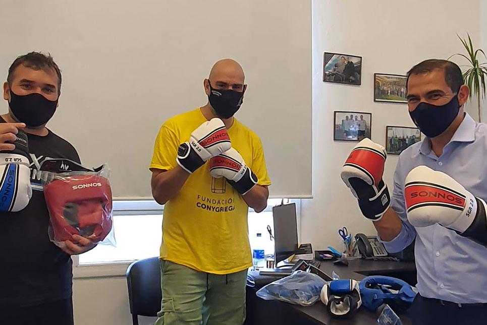 Donación a la Asociación de Boxeo Patagónico