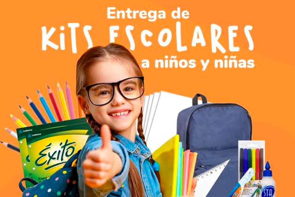 Donación kits escolares 2021