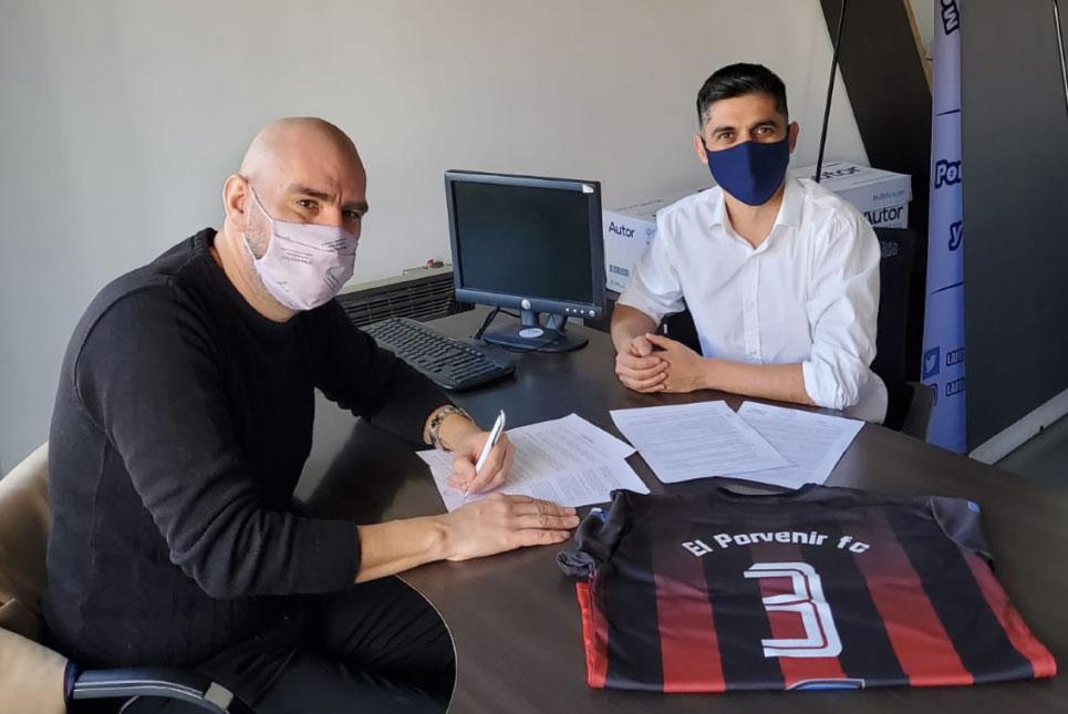 Firma de convenio marco con El Porvenir F.C.